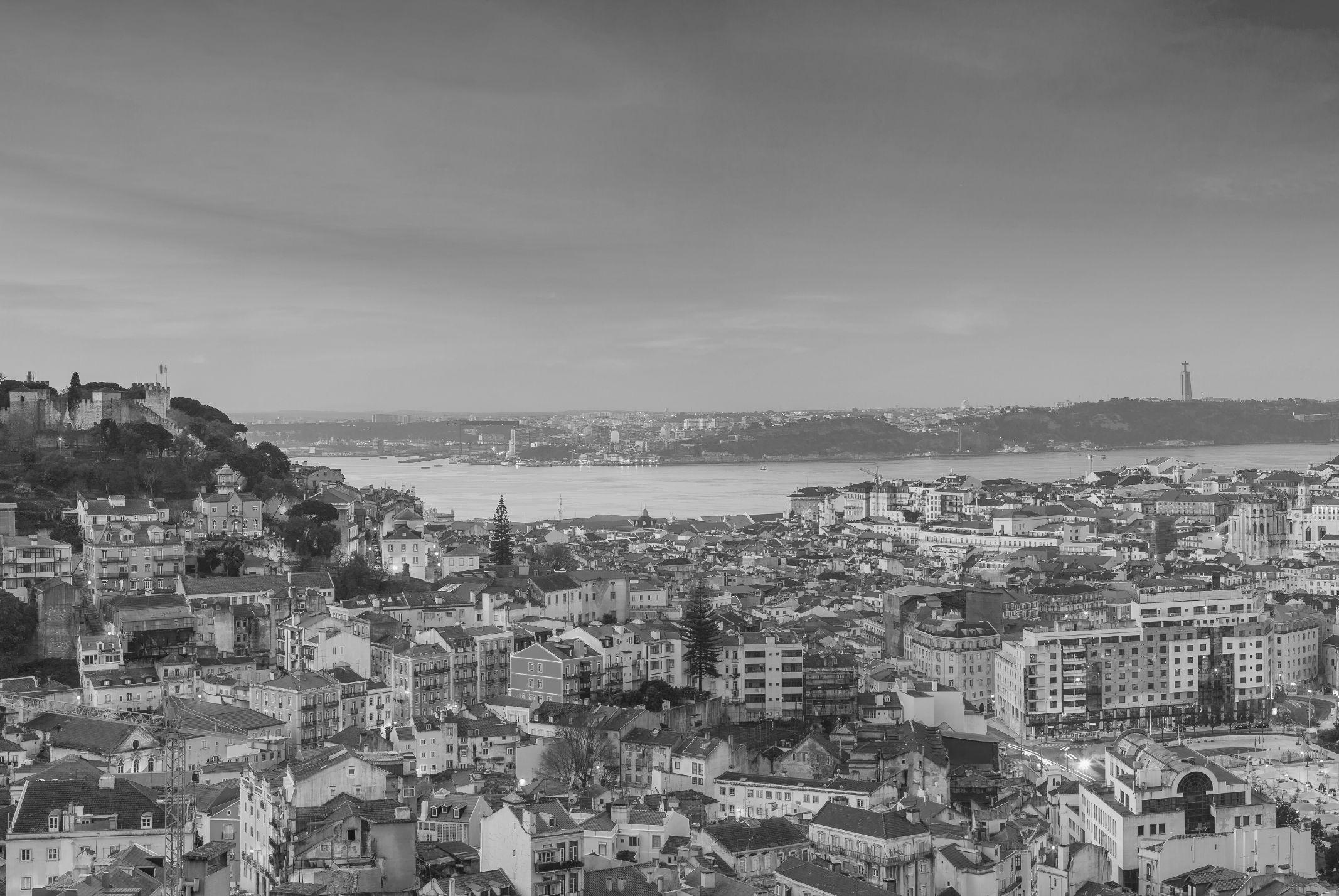 Vista sobre o rio Tejo, Lisboa