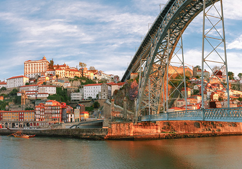 bridge view, Porto